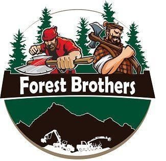 logo okrągłe Forest Brothers